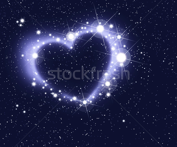 Stars Form A Heart Stock photo © PeterHermesFurian