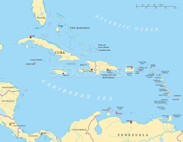 Map of dominican republic Stock Photos Stock Images and Vectors