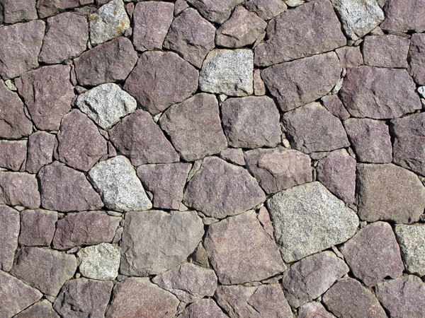 Stone Wall - Dry Set Masonry Stock photo © PeterHermesFurian