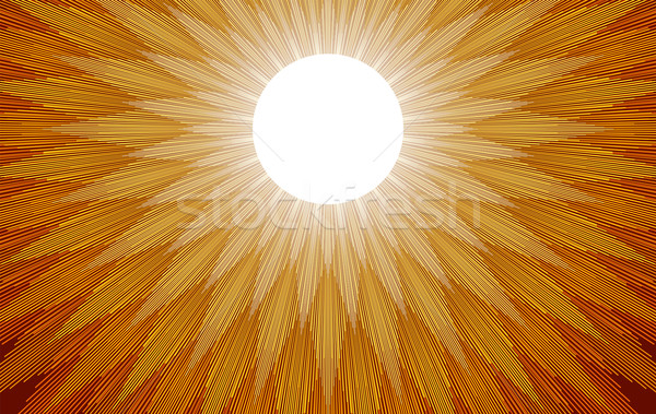 Sun Rays Stock photo © PeterHermesFurian