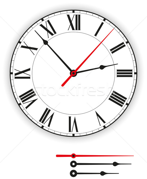 Antique Clock Face Stock photo © PeterHermesFurian