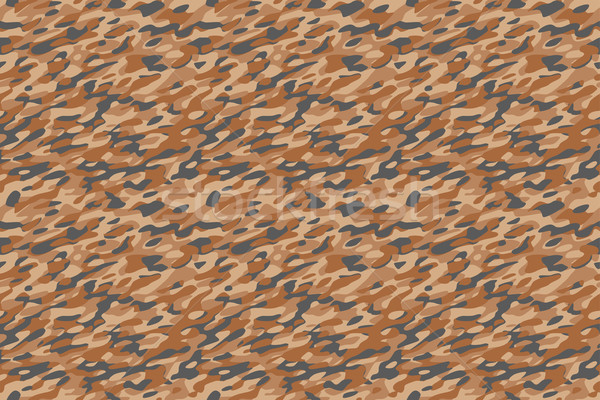 Camouflage Desert Brown Background Stock photo © PeterHermesFurian