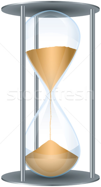 Hourglass Stock photo © PeterHermesFurian