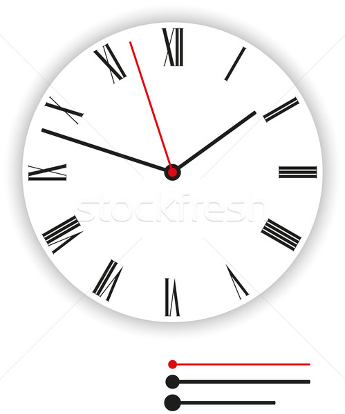 Clock Face Classic Stock photo © PeterHermesFurian