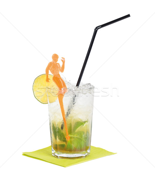 Stock photo: Caipirinha Cocktail