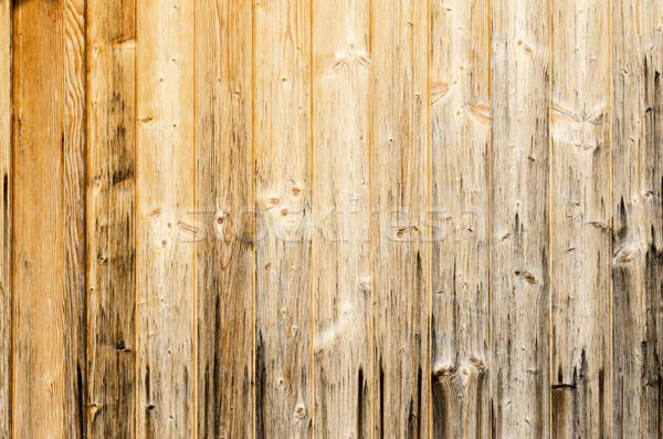 Old Planked Wood Used As Background Stock photo © PeterHermesFurian