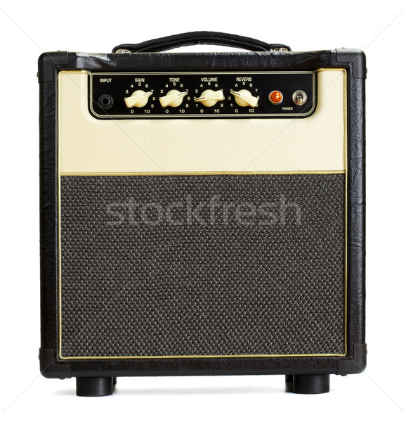 Stock photo: Vintage Guitar Amplifier