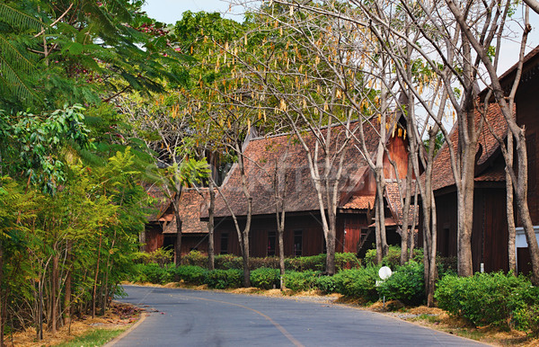 Mueang Boran Stock photo © PetrMalyshev