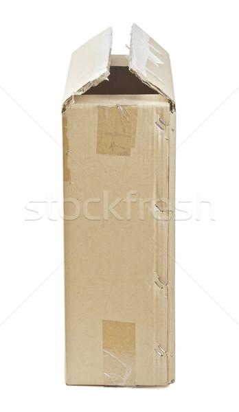 Cardboard Box Stock photo © PetrMalyshev