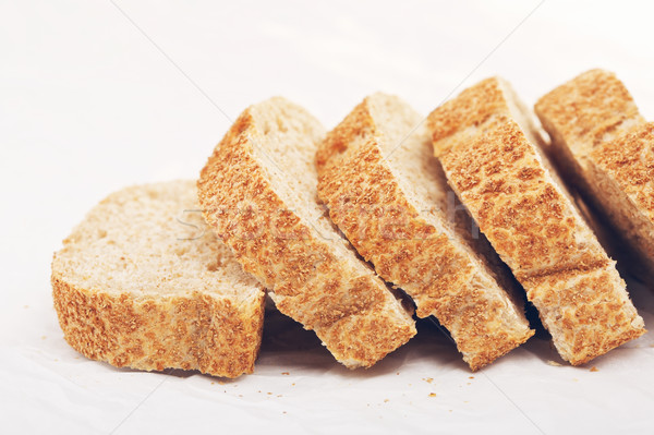 Wholegrain White Bread Stock photo © PetrMalyshev