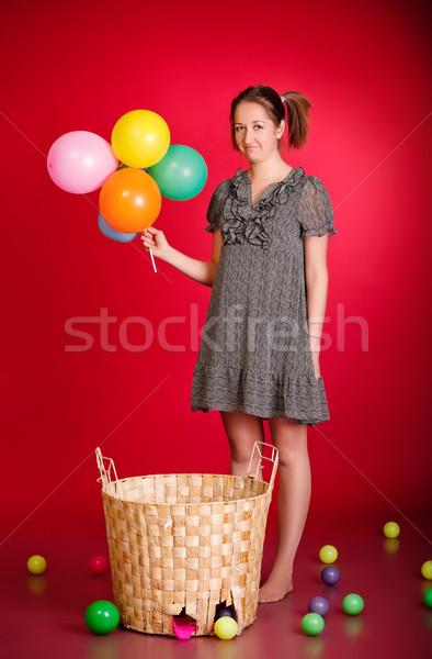 Funny Girl Stock photo © PetrMalyshev