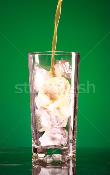 Pouring Soda Stock photo © PetrMalyshev