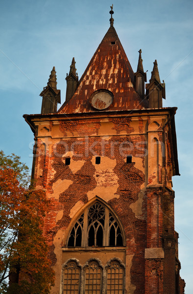 old gothic tower  Stock photo © PetrMalyshev