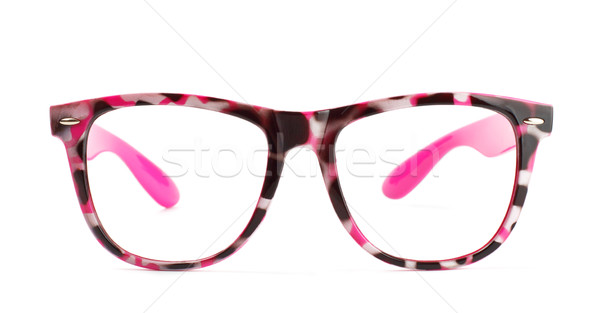 pink eyeglasses Stock photo © PetrMalyshev