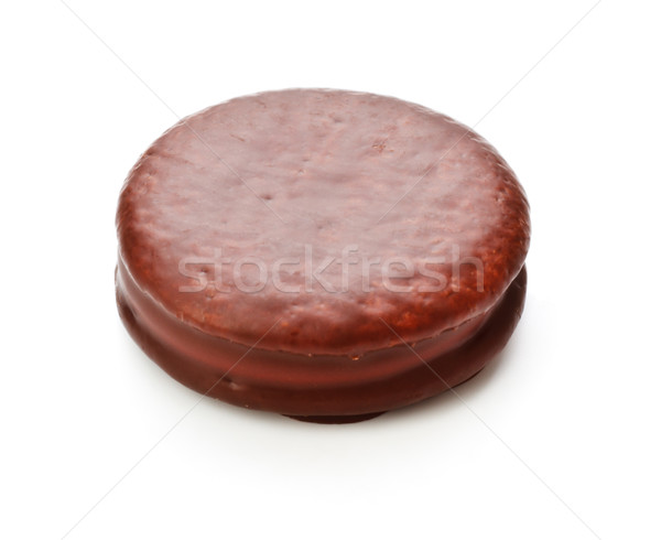 Chocolate Sandwitch Biscuits Stock photo © PetrMalyshev