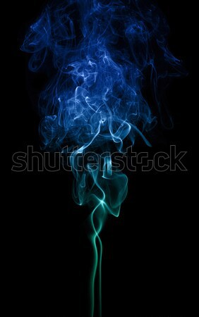 Color Smoke On Black Stock photo © PetrMalyshev