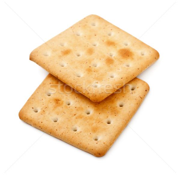 Stock photo: Salty Crackers