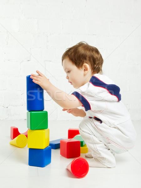 Stock photo: Child Playing