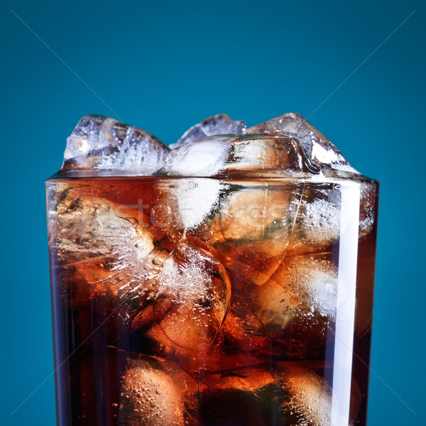 Cola Glass Stock photo © PetrMalyshev