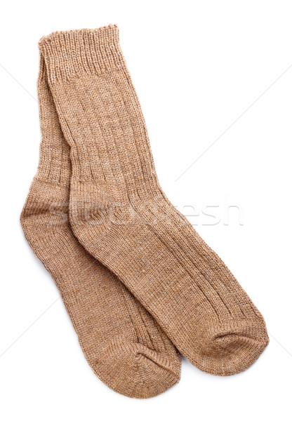 Woollen Socks Stock photo © PetrMalyshev