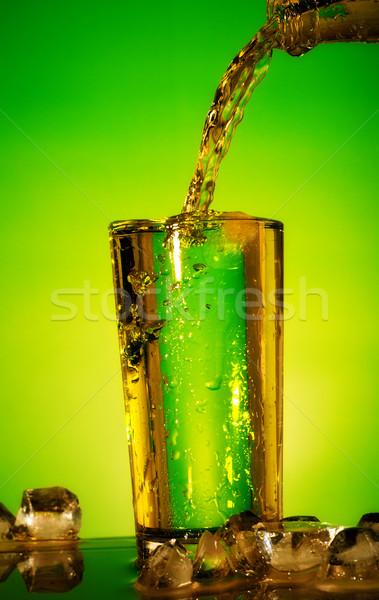 Pouring Soda Stock photo © PetrMalyshev