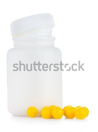 Medicine Bottle Stock photo © PetrMalyshev
