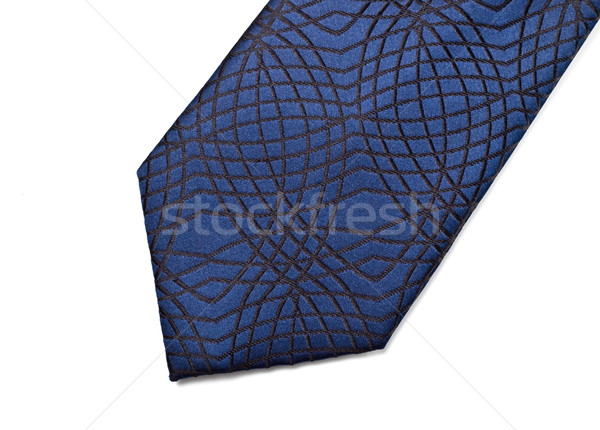 blue necktie part Stock photo © PetrMalyshev