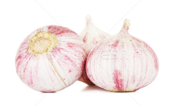 Chinese Solo Garlic  Stock photo © PetrMalyshev