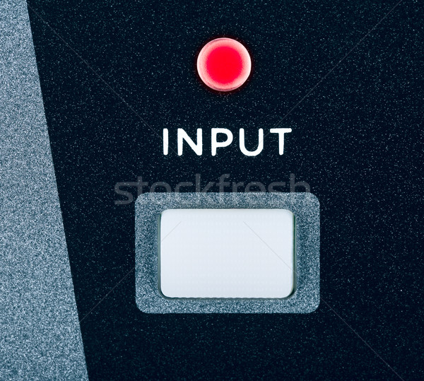 Amplifier Input Button  Stock photo © PetrMalyshev