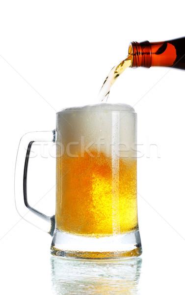 Pouring Beer Stock photo © PetrMalyshev