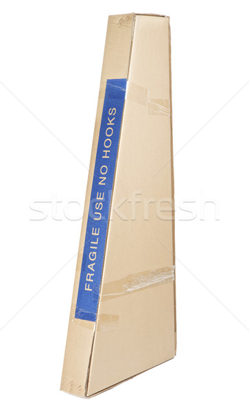 Stock photo: Cardboard Box