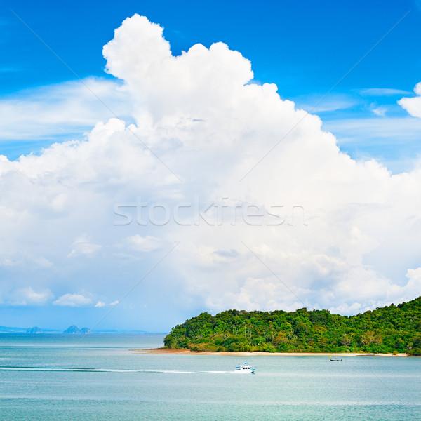Sea Landscape Stock photo © PetrMalyshev