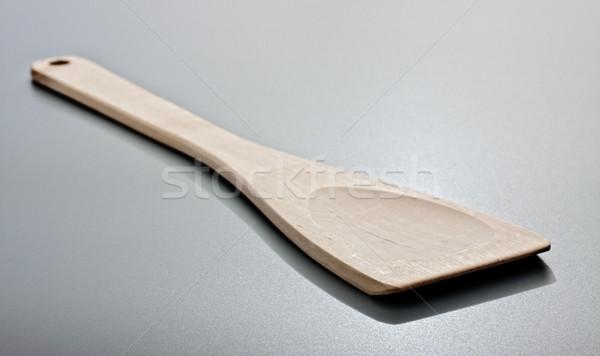 kitchen spatula on grey table Stock photo © PetrMalyshev