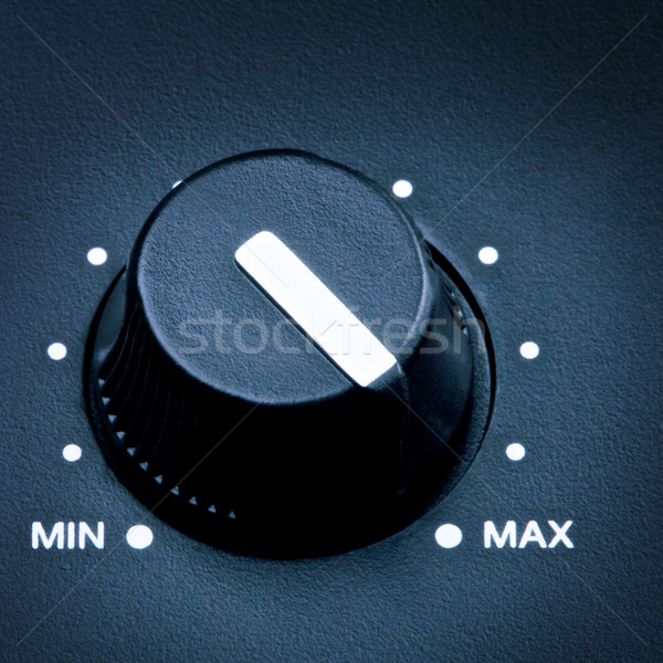 Volume Knob Stock photo © PetrMalyshev