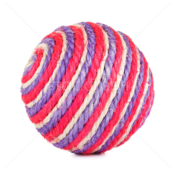 Toy Ball For Cat Stock photo © PetrMalyshev