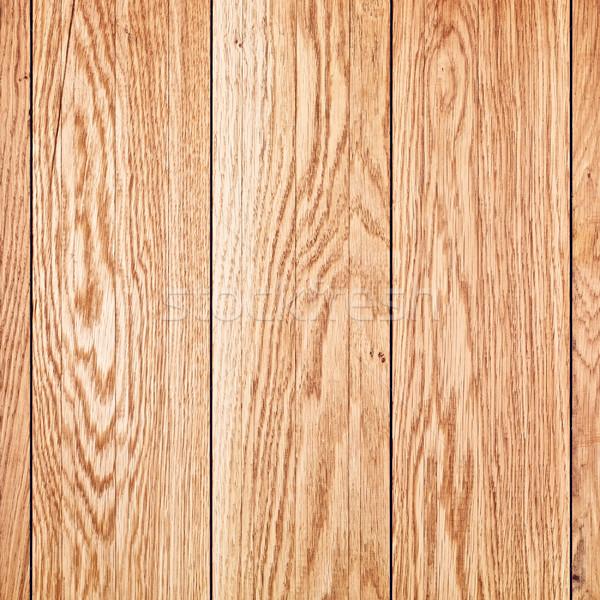 Eiken muur bruin olie ontwerp verf Stockfoto © PetrMalyshev