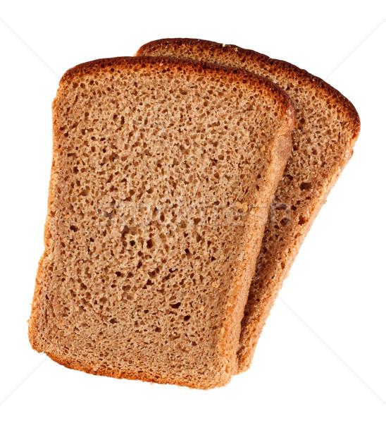 Rye Bread Slices Stock photo © PetrMalyshev