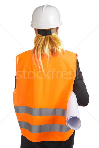 Engineer Woman Stock photo © PetrMalyshev
