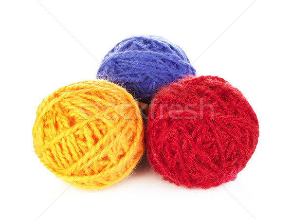 Colorful Yarn Balls Stock photo © PetrMalyshev