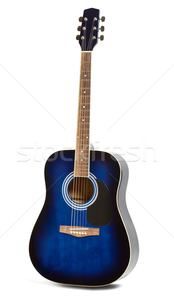 Acoustic guitar Stock photo © PetrMalyshev