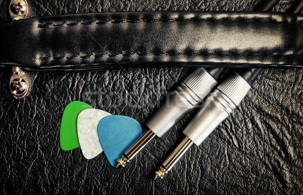 Stock photo: Guitar Amplifier