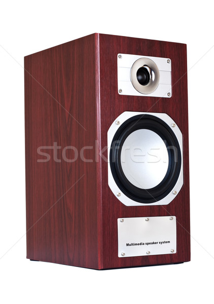 brown speaker system Stock photo © PetrMalyshev