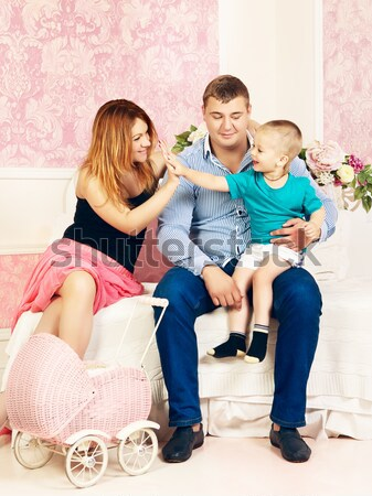 Love Triangle Stock photo © PetrMalyshev