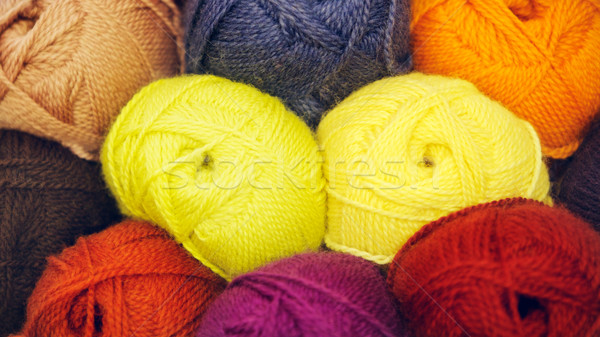 Stock photo: Knitted Wool