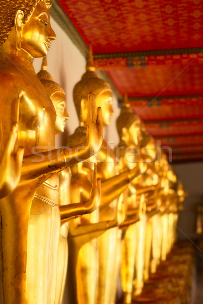 Statue in Wat Po Stock photo © PetrMalyshev