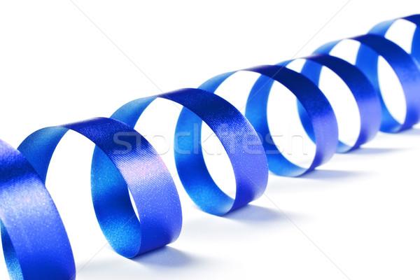 Blue Ribbon Serpentine Stock photo © PetrMalyshev