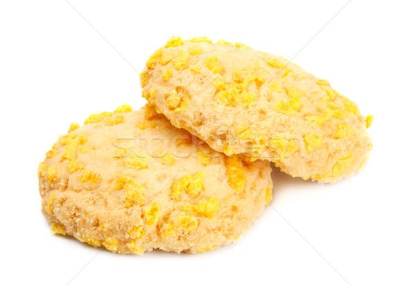 Homemade Cookies With Cornflake Chips Stock photo © PetrMalyshev