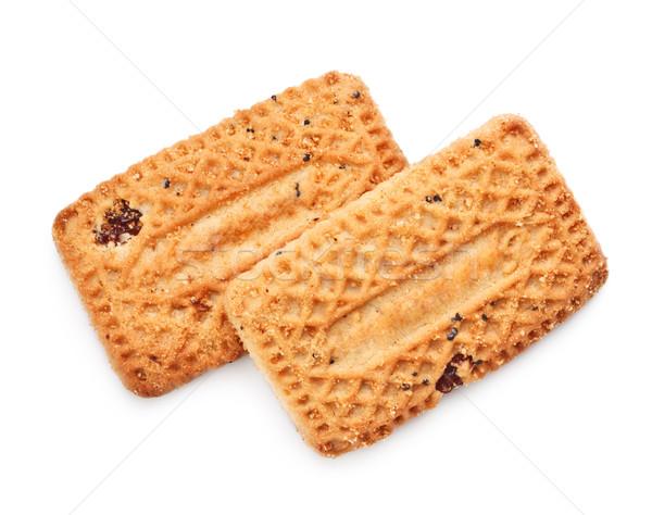 Shortbreads Cookies With Raisins Stock photo © PetrMalyshev