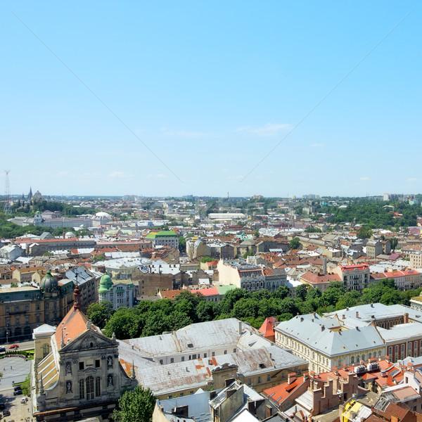 лет мнение город зале зеленый Сток-фото © PetrMalyshev