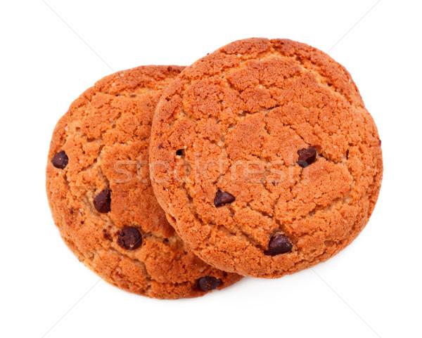 Single Chocolate Chip Cookies Stock photo © PetrMalyshev